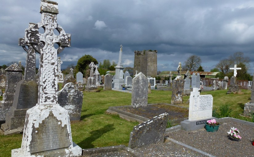Fanning Graves in Two-Mile-Borris Cemeteries, Co Tipperary, Ireland