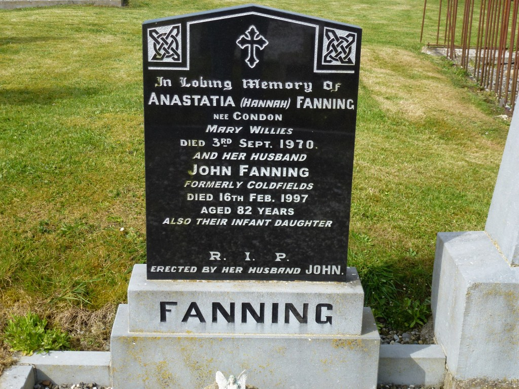 Twomileborris Cemetery Anastasia Fanning Coldfields