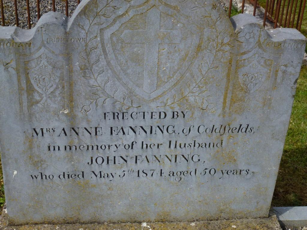 Twomileborris Cemetery Fannings of Coldfields (4)