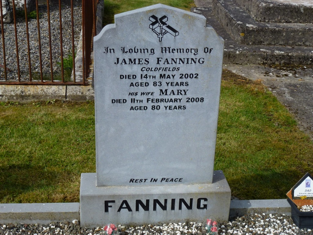 Twomileborris Cemetery Fannings of Coldfields (5)