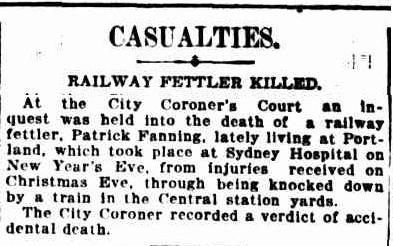 Sydney Morning Herald 10 Jan 1911