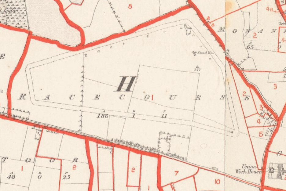 Townland of Racecourse Thurles c1850