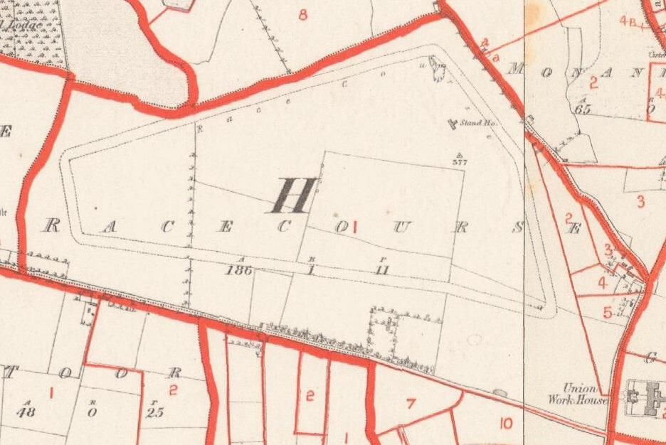 Townland of Racecourse Thurles c1850