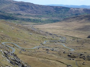 The Healy Pass  Co Cork bulit during the famine in 1847