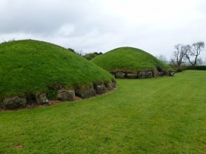 Knowth Megalithic Tomb Mounds Co Meath