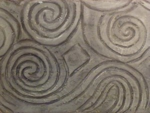 Spiral Designs on the Megalithic Tomb at Knowth   Co Meath